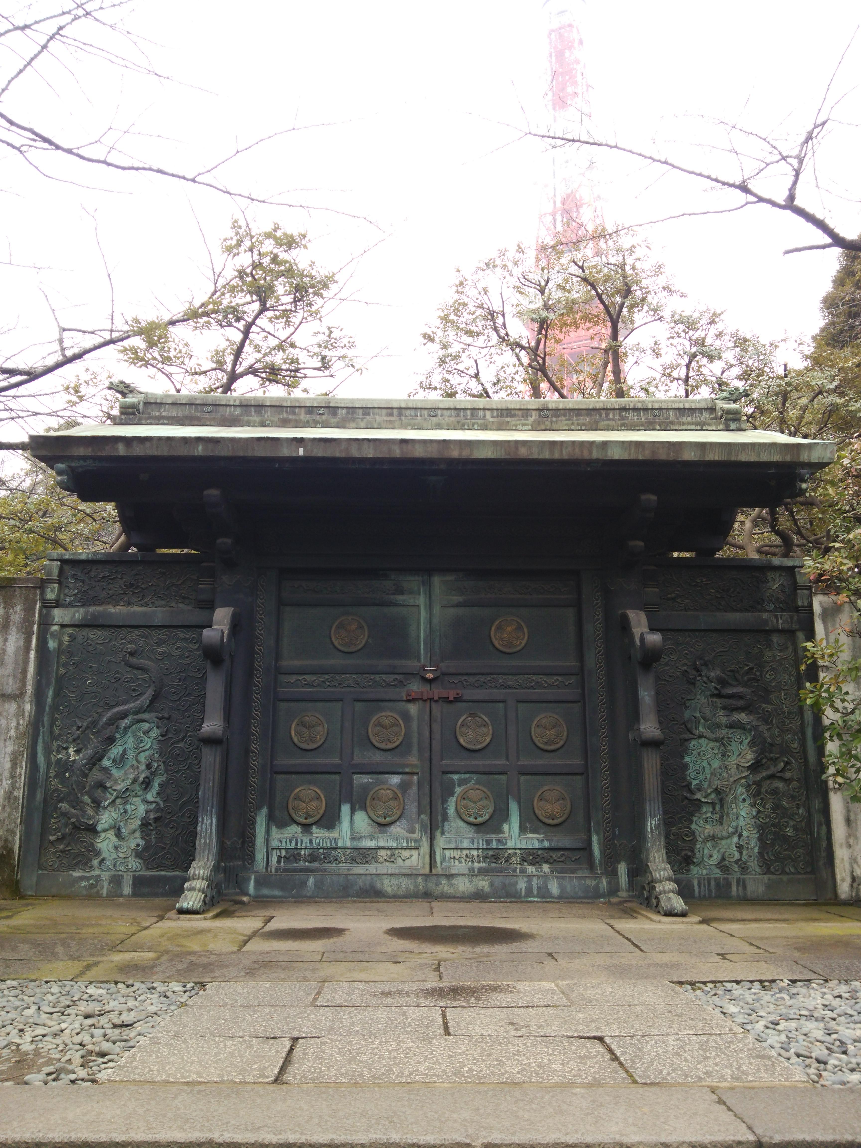徳川家の墓